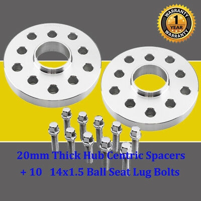 "2pc 7mm 1//4/"" Wheel Spacers5x114.3 5x4.5 Hubcentric 63.4mm Hub"