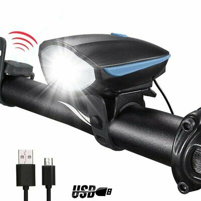 USB Rechargeable Bicycle light LED Bike light front Bycicle Headlight Camping