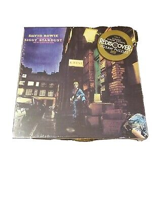David Bowie Puzzle Ziggy Stardust Album Cover Rediscover 300 Pc New 2012 6129.