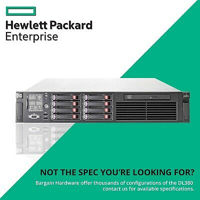 HP Cheap ProLiant DL380 G6, 2x Six Core Xeon, 48GB RAM, P410 FBWC 2U Rack Server