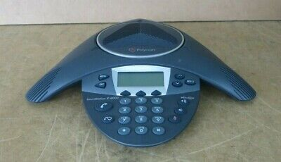 Polycom SoundStation IP VoIP 6000 Conference Phone With Display 201-15600-001