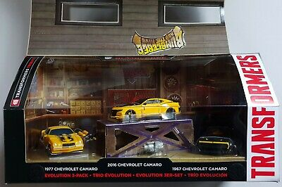 HASBRO® C2028 Transformers Evolution 3er-Pack Bumblebee Deluxe Class