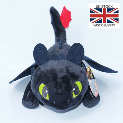 25/45cm How To Train Your Dragon 2 Night Fury Plush Toy Toothless Stuffed Toys