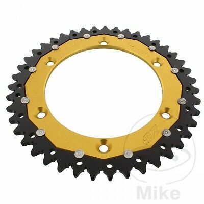 ZF Dual Gold Rear Sprocket (43 Teeth) Husqvarna SM 610 ie 2008-2010