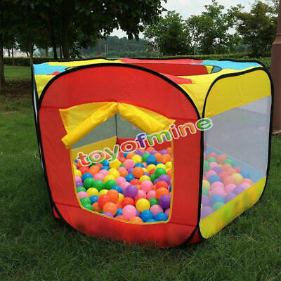 Foldable Kids Portable Pit Ball Pool Outdoor Indoor Baby Tent Play Hut Have Fun