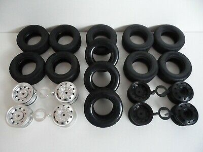 Choice Of New Genuine Tamiya Truck Wheels & Tyres/Tires For 1/10 TT-01E Chassis