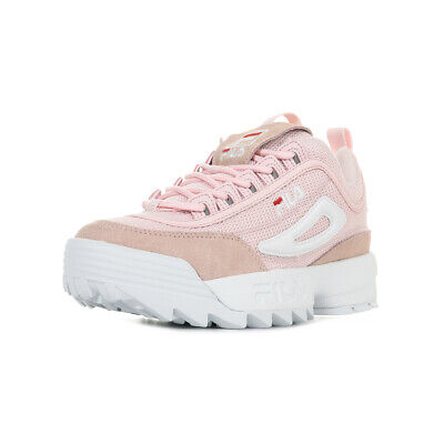 Taille Chaussures Low Femme Disruptor Baskets Fila Mesh gyY76fb