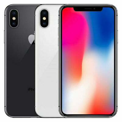 Apple iPhone X (iPhone 10) - 64GB 256GB Unlocked - All Grades - 12M Warranty