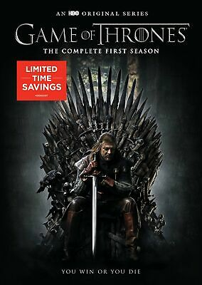 Game of Thrones: The Complete First Season (DVD, 5-Disc Set) NEW
