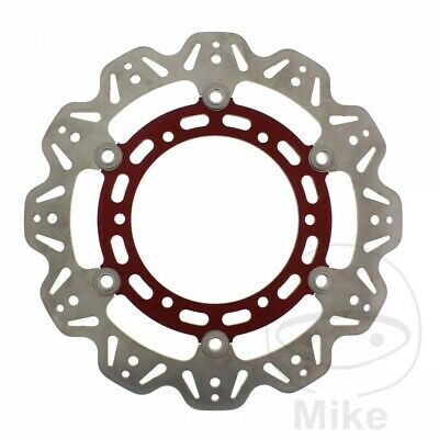 EBC Front Brake Disc Vee Rotor Red Yamaha TDM 900 2004
