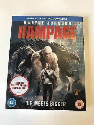 Rampage [Blu-ray] [2018] (Blu-ray) Sealed