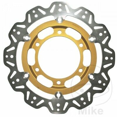 EBC Front Brake Disc Vee Rotor Gold Triumph Speed Triple 750 1997
