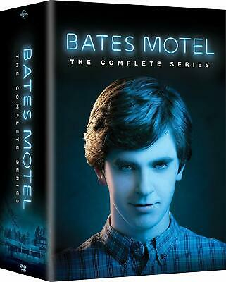 Bates Motel: The Complete Series Seasons 1-5 (DVD, 2017, 15-Disc Set) New