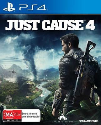Just Cause 4 Steel Case Edition PS4 Playstation 4 Brand New Sealed