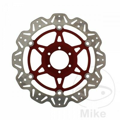 EBC Front Brake Disc Vee Rotor Red Cagiva Mito 125 Evolution 1998