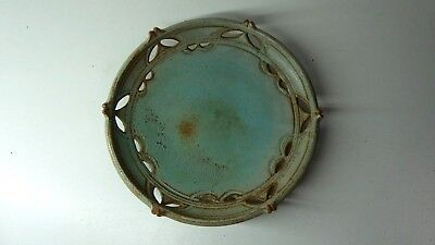 "Australian Pottery Studio Plate Bowl  Signed "" H.kimber "" To Base"
