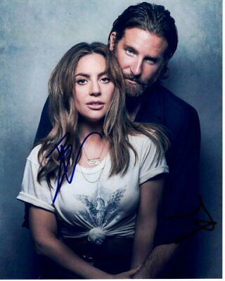 BRADLEY COOPER & LADY GAGA signed autographed A STAR IS BORN photo