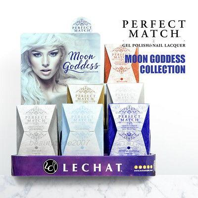 LeChat Perfect Match Gel Polish & Nail Lacquer Moon Goddess Collection Choose 1