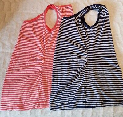 ea9b71ea794547 GAP PURE BODY maternity tanks size S (lot of 2) stripes EUC -  14.99 ...