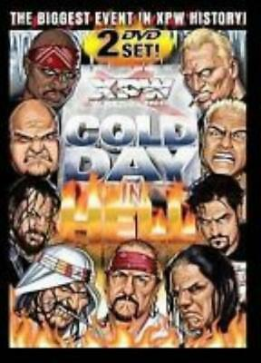 XPW Wrestling: Cold Day In Hell 2-Disc Set DVD VIDEO MOVIE show deathmatch 99-03