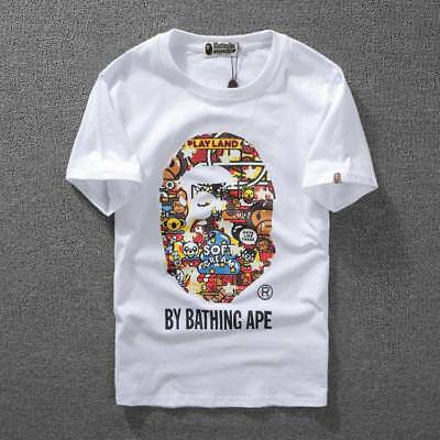 752c4511 2019NEW A BATHING APE KID BABY MILO Tee BAPE Short Lover Sleeve Tops T-shirt