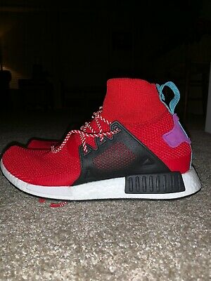 43d67d66804a5 ADIDAS ORIGINALS NMD XR1 Winter Mens Trainers in Red 11 US -  40.00 ...