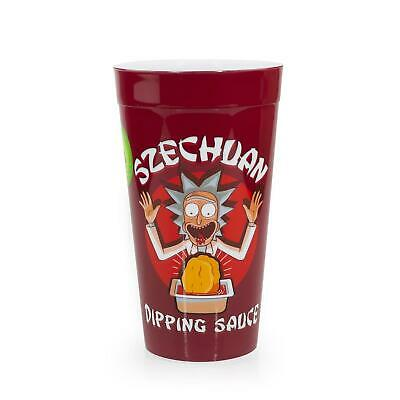 Rick and Morty Collectable Szechuan Dipping Sauce Plastic Cup