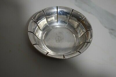 Antique Preisner Silver Company PS Co Sterling Silver Candy Dish Bowl (60 Grams)