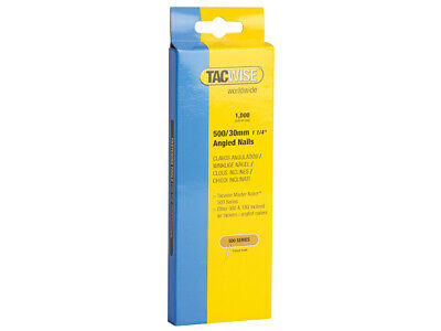 Tacwise 500 18 Gauge 30mm Angled Nails Pack 1000 TAC0481