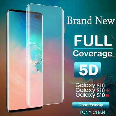 For Samsung Galaxy S10 S10 Plus Screen Protector Full Coverage Tempered Glass FA