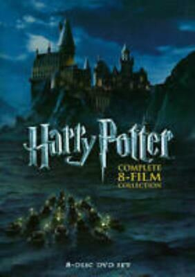 Harry Potter: Complete 8-Film Collection 8-Disc Set DVD VIDEO MOVIE Sorcerer +