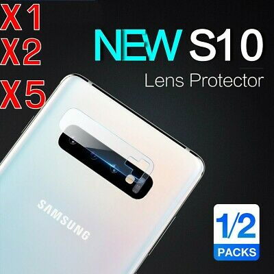 5X For Samsung Galaxy S10 + Plus S10E Back Camera Lens Tempered Glass Protector