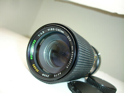 SEARS 80-200mm f 4 lens with. MACRO, for Canon FD mount camera Sn830820118
