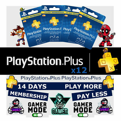 PlayStation Plus 6 Month 182 Day PSN Membership PS3 PS4 PS Vita USA NO CODE !!!