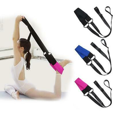 Ballet Stretch Band Leg Stretching Strap Dance Home Exercise Foot Stretcher LC