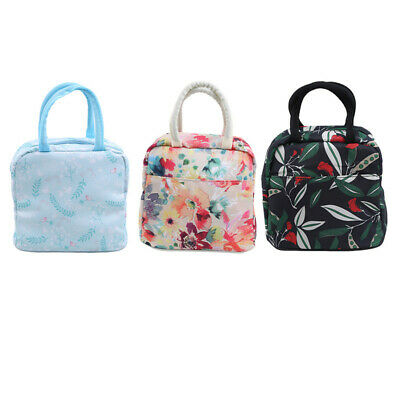 Flower Insulation Package Portable Lunch Bag Thickening With Rice Lunch Box LG