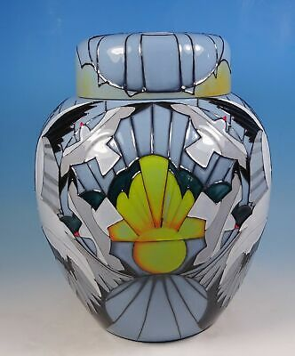 "MOORCROFT Silver Gulls Spirit of Australia Ltd Ed Large 8"" Ginger Jar RRP £824"
