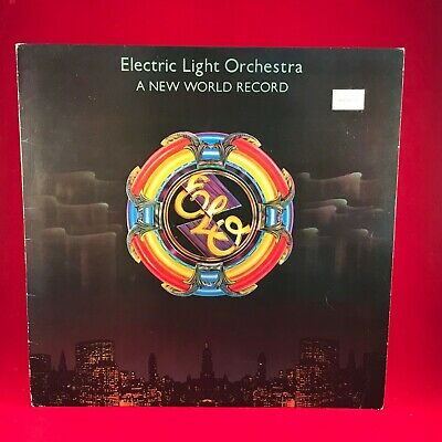 ELECTRIC LIGHT ORCHESTRA ELO A New World Record 1976 UK Vinyl LP EXCELLENT CON #