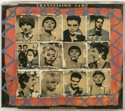 TRANSVISION VAMP I Just Wanna Be GERMAN CD  WENDY JAMES