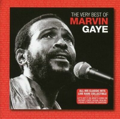 MARVIN GAYE The Very Best Of (Live) CD BRAND NEW Fanfare