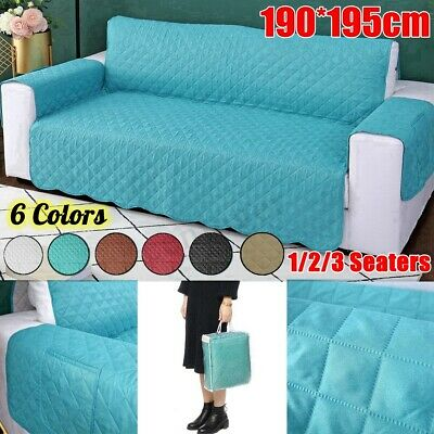 1/2/3 Seat Sofa Cover Protector Couch Lounge Cushion Anti-slip Slipcover Stretch