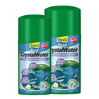 Tetra Pond CrystalWater Effective Treatment for Crystal Clear Water - 250/500ml