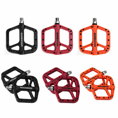 RockBros A Pair Mountain Bike Bicycle Bearing Pedals Cycling Wide Nylon Pedals