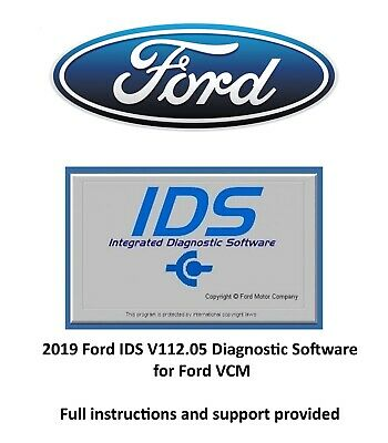 2019 Ford IDS V112.05 Diagnostic Software for Ford VCM VM Simple installation