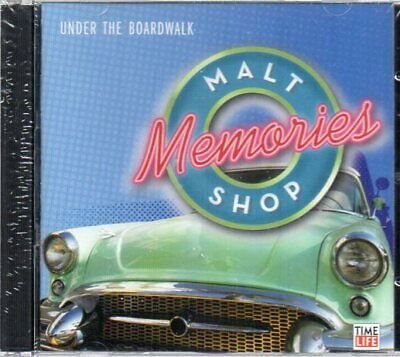 Time Life Malt Shop Memories Under The Boardwalk NEW SEALED Double CD