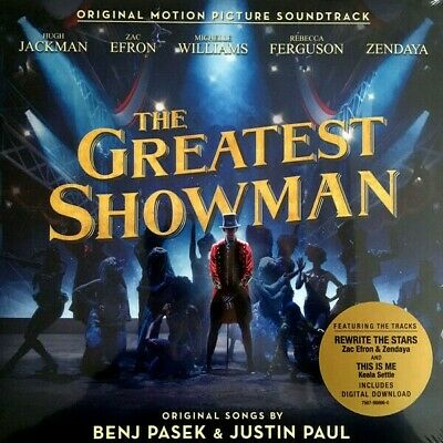 Various, Benj Pasek, Justin Paul ‎– The Greatest Showman Vinyl LP NEW/SEALED