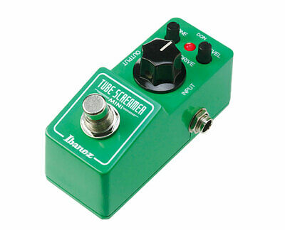 Ibanez TS MINI Tube Screamer Mini Guitar Overdrive Pedal --