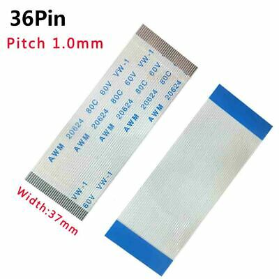 Pitch 1.0mm 36-Pin FFC/FPC Flexible Flat Cable 80C 60V VW-1 W:37mm L:50mm-3000mm