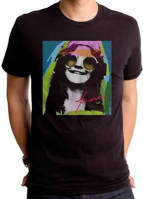 JANIS JOPLIN Psychedelic T SHIRT S-2XL New Official Goodie Two Sleeves Merch