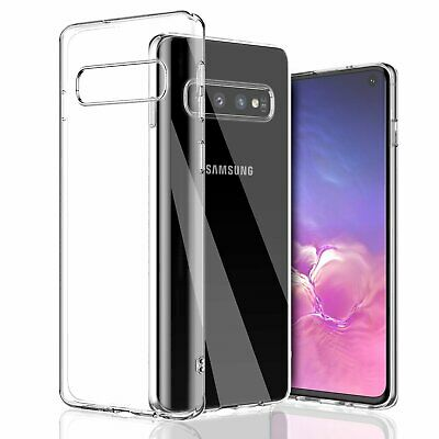For Galaxy S10/S10 Plus/S10e Clear Transparent Case Shock Absorption TPU Soft